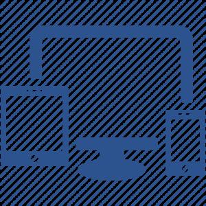tablet desktop phone workspace